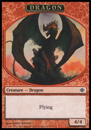 Dragon token, Shards of Alara