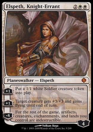 Elspeth, Knight-Errant, Shards of Alara