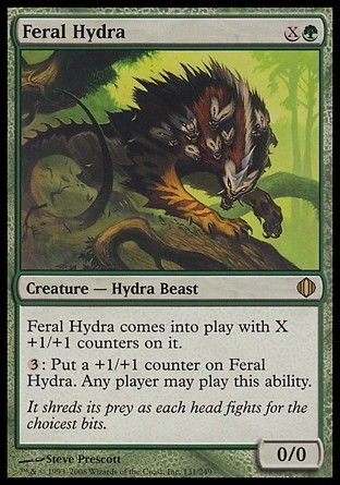 Feral Hydra, Shards of Alara