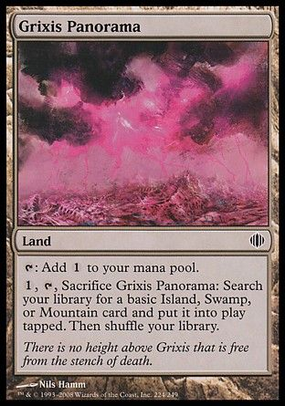 Grixis Panorama, Shards of Alara