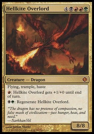 Hellkite Overlord, Shards of Alara