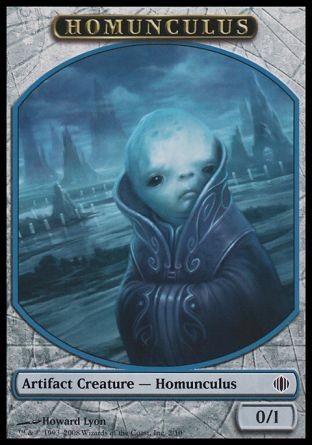 Homunculus token, Shards of Alara