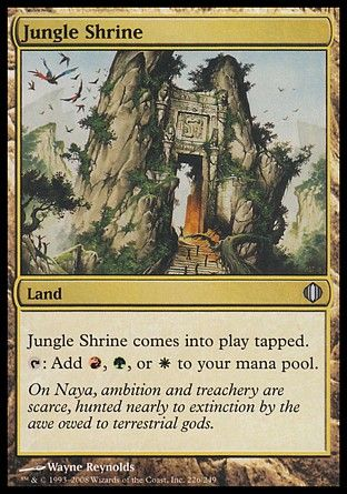 Jungle Shrine, Shards of Alara