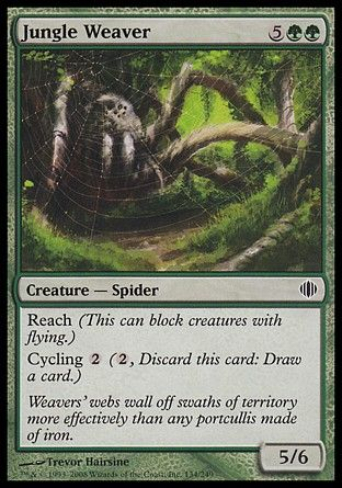 Jungle Weaver, Shards of Alara