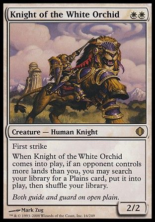 Knight of the White Orchid, Shards of Alara