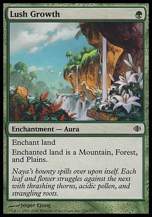 Lush Growth, Shards of Alara