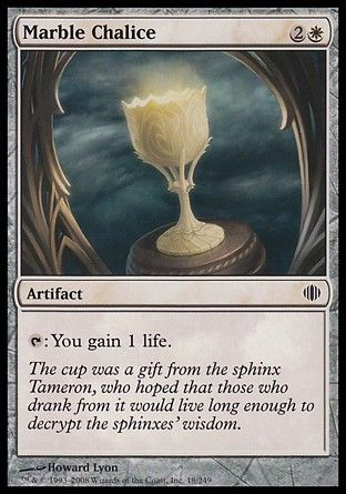 Marble Chalice, Shards of Alara