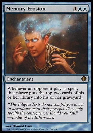 Memory Erosion, Shards of Alara