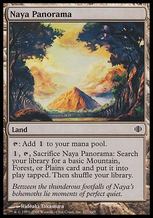 Naya Panorama, Shards of Alara