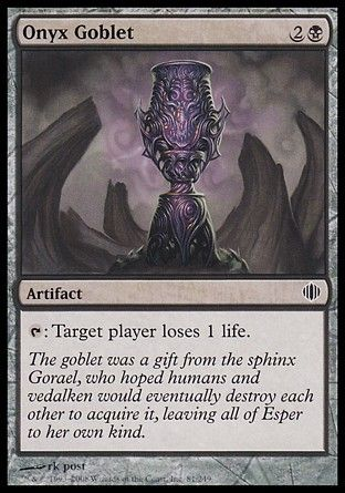 Onyx Goblet, Shards of Alara