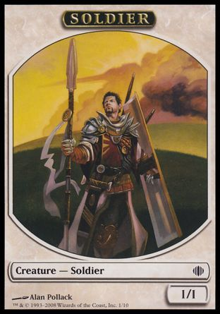 Soldier token, Shards of Alara