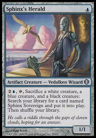Sphinx's Herald, Shards of Alara