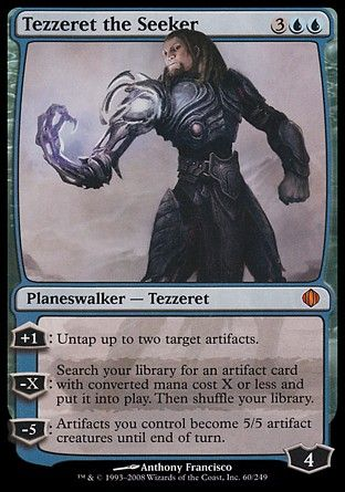 Tezzeret the Seeker, Shards of Alara