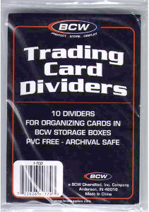 BCW 10 Dividers (White), Special