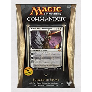 Commander 2014 Forged in Stone Deck (White), Special