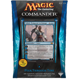 Commander 2014 Peer Through Time Deck (Blue), Special