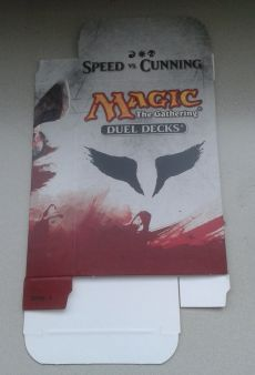 Duel Decks Speed vs. Cunning Speed Card Box, Special