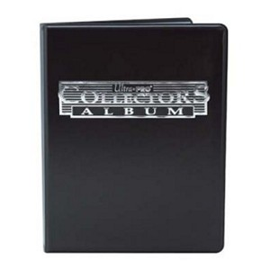 Ultra Pro Collectors Portfolio - 9-Pocket Black, Binders