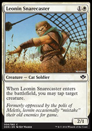 Leonin Snarecaster, Speed vs Cunning