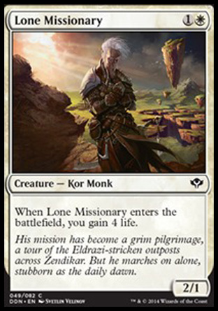 Lone Missionary, Speed vs Cunning