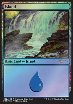 Island, Standard Showdown Promos