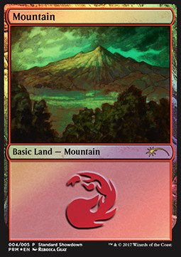 Mountain, Standard Showdown Promos