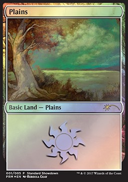 Plains, Standard Showdown Promos