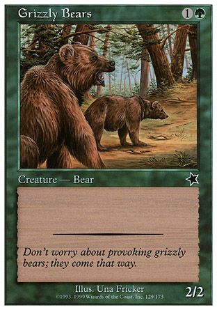 Grizzly Bears, Starter 1999