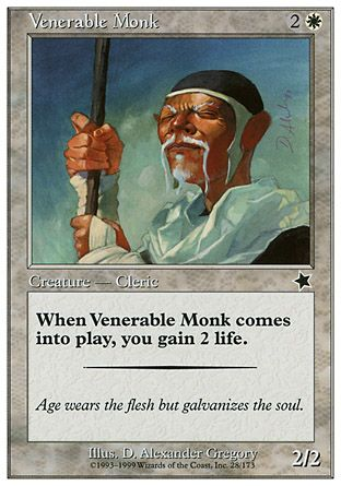 Venerable Monk, Starter 1999