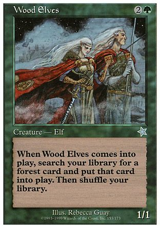 Wood Elves, Starter 1999