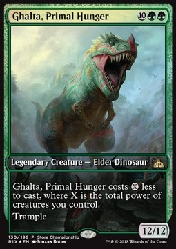 Ghalta, Primal Hunger, Store Championship Promos