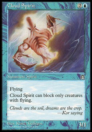 Cloud Spirit, Stronghold