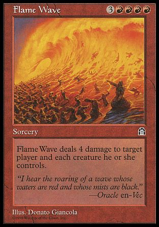 Flame Wave, Stronghold