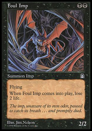 Foul Imp, Stronghold