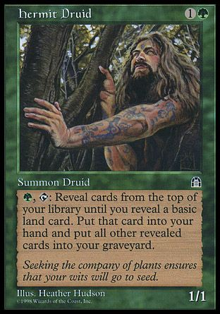 Hermit Druid, Stronghold