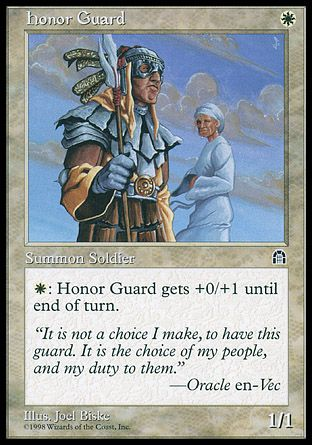 Honor Guard, Stronghold