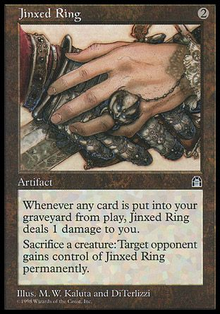 Jinxed Ring, Stronghold