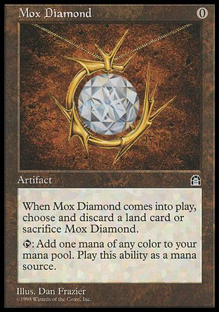Mox Diamond, Stronghold