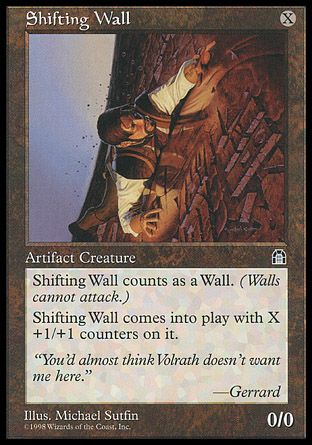 Shifting Wall, Stronghold