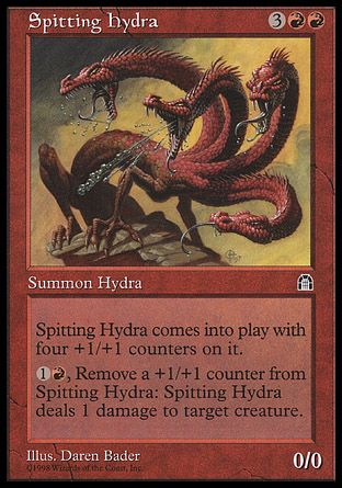 Spitting Hydra, Stronghold