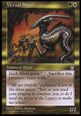 Victual Sliver, Stronghold