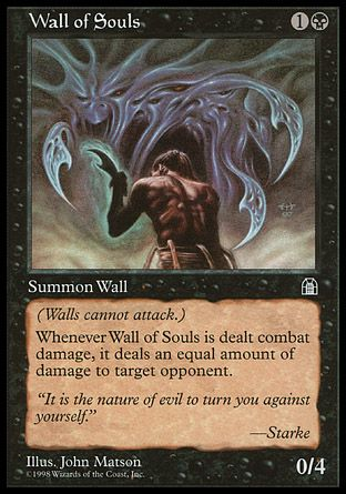 Wall of Souls, Stronghold