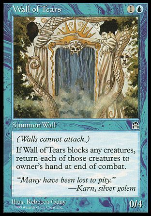 Wall of Tears, Stronghold