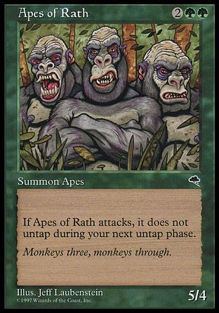 Apes of Rath, Tempest
