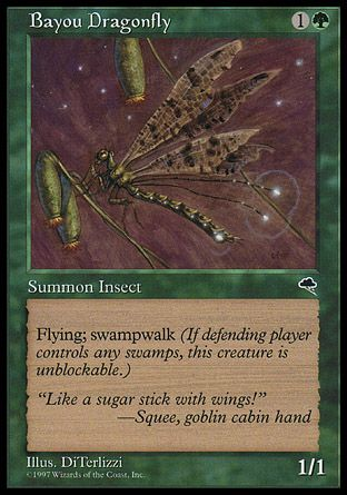 Bayou Dragonfly, Tempest