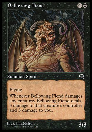 Bellowing Fiend, Tempest
