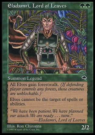 Eladamri, Lord of Leaves, Tempest