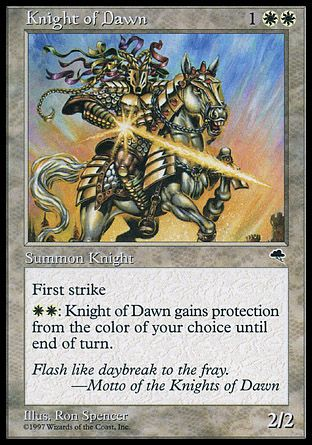 Knight Of Dawn, Tempest