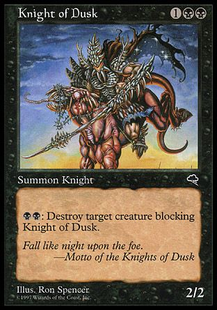 Knight Of Dusk, Tempest