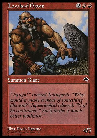 Lowland Giant, Tempest